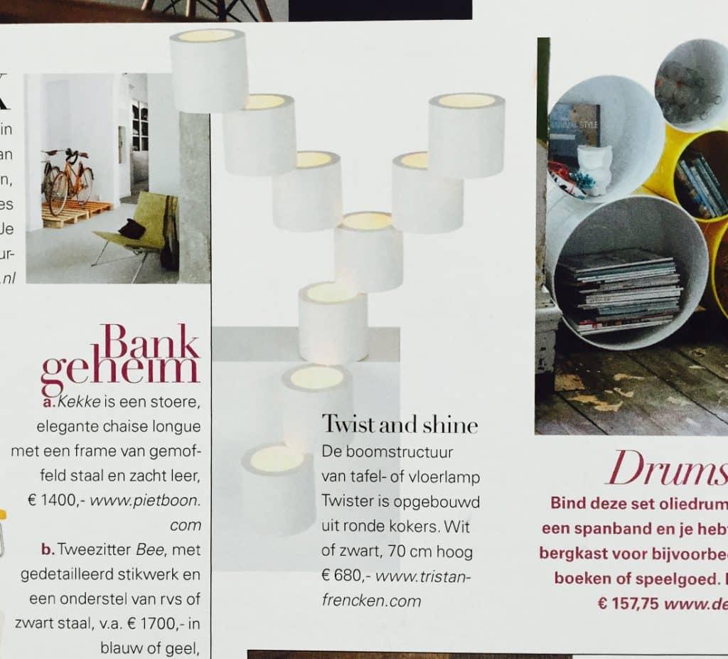 Design Bank Wit Leer.Paper Plain Publications